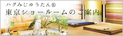 ハグみじゅうたん 東京ショールームのご案内