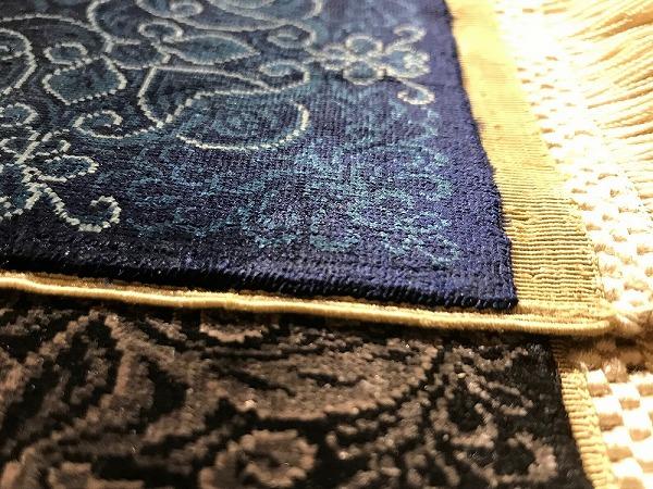 シルクの絨毯