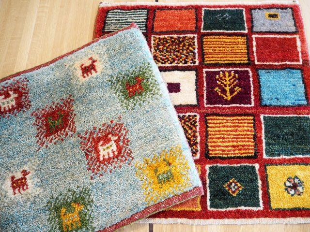 某番組でペルシャ絨毯とともに紹介された人気のギャッベ