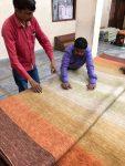 【生産地だより】手仕事絨毯の検品 2018年3月