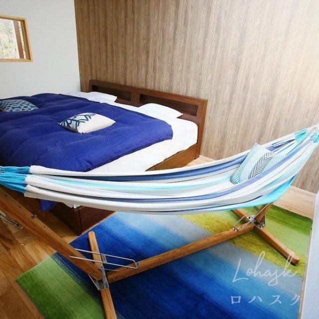 シマブルー様 ハグみじゅうたんのある客室