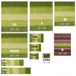 サイズから選ぶ ハグみじゅうたん全シリーズのサイズ展開