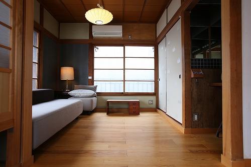 Araiya様 客室2 (Before) ラグを敷く前