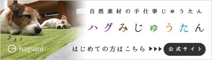 ハグみじゅうたん 公式ホームページ