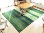 ハグみじゅうたん LLサイズ(約200×250cm) テーブルを置いてもゆったりのサイズ感