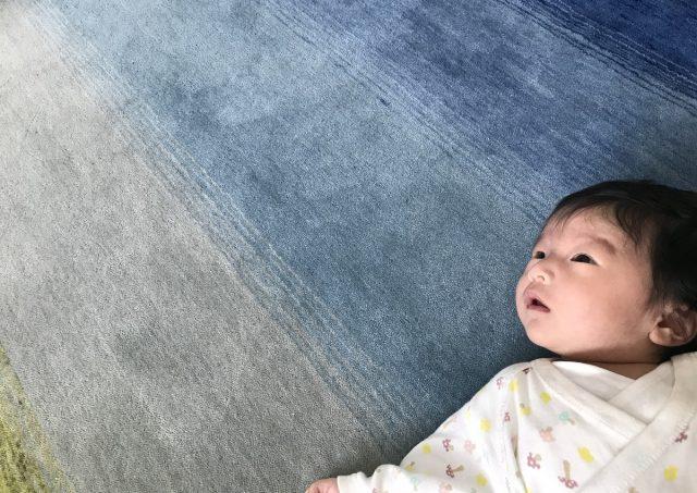 赤ちゃんとハグみじゅうたん