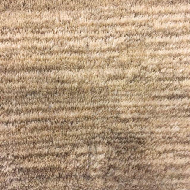 2カ月後の絨毯の様子
