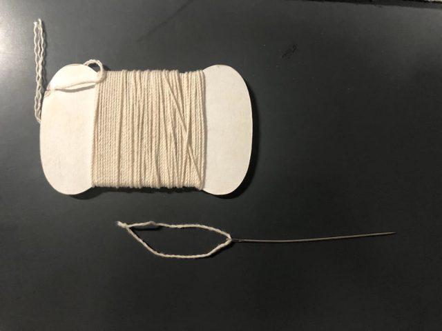 たこ糸と針