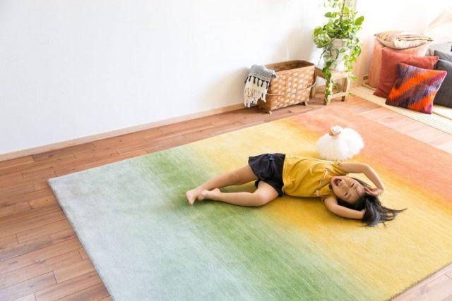 床暖房対応の絨毯
