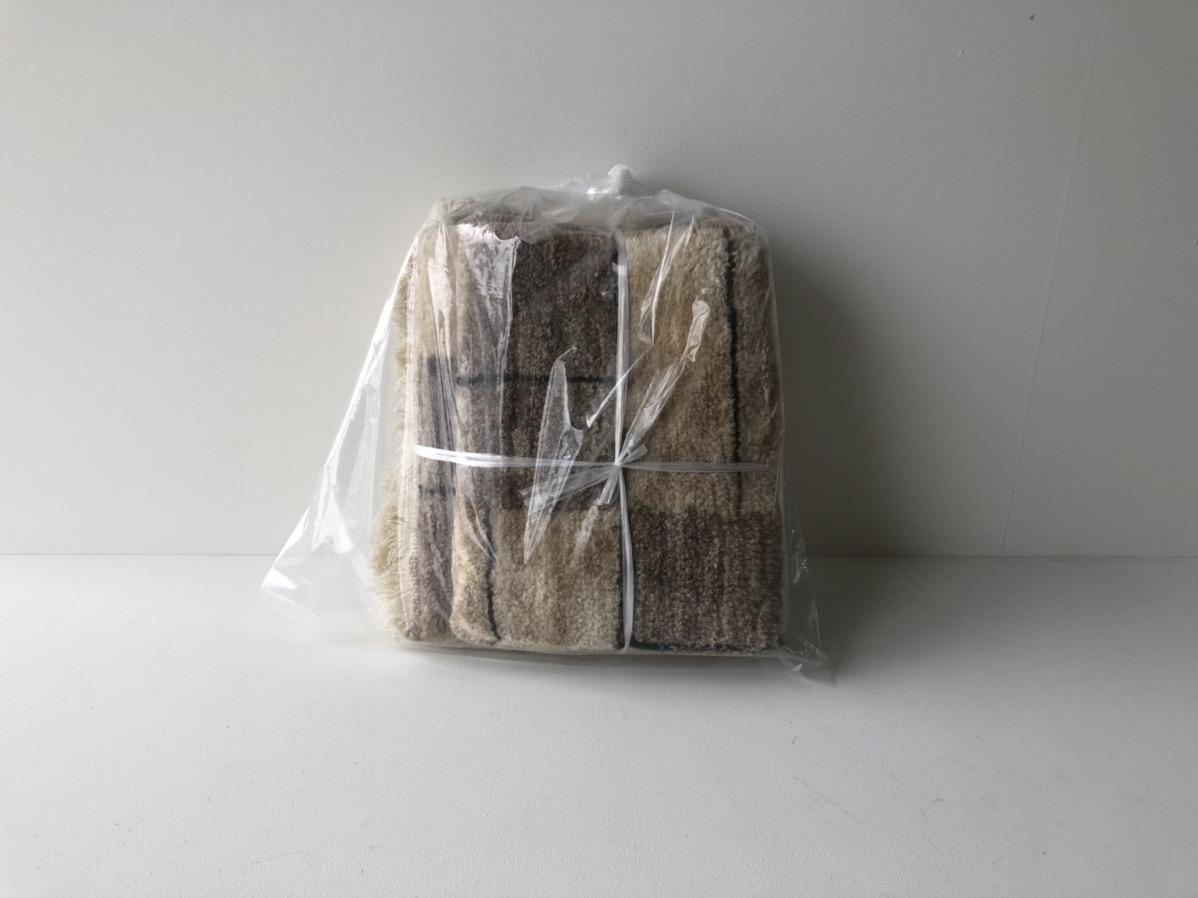 絨毯の捨て方(袋にまとめる)