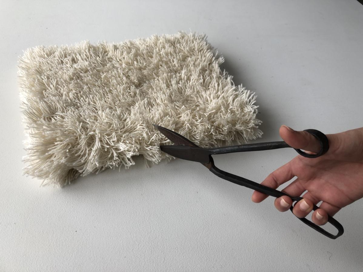 絨毯の切り方