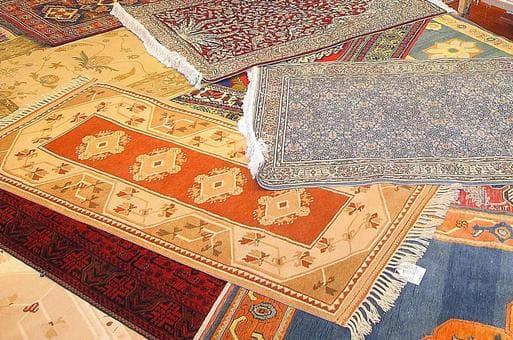 ペルシャ絨毯の文様