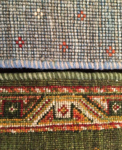 絨毯の織り